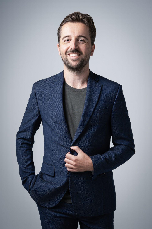 Mark Wijsman presentator